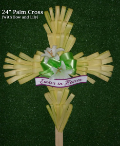 24 Inch Palm Cross Photo