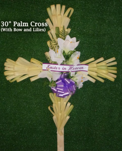 30 inch Palm Cross Photo